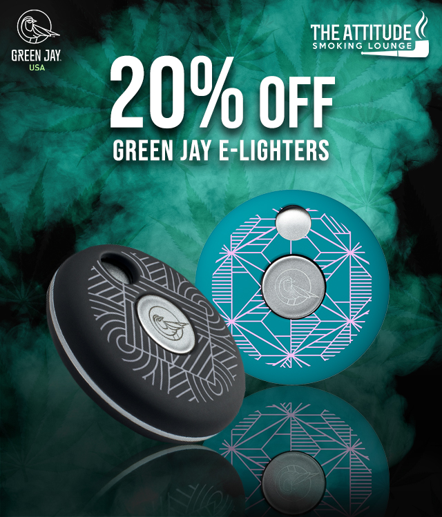 20% OFF Green Jay E-lighters